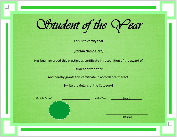 Best Student Certificate Templates