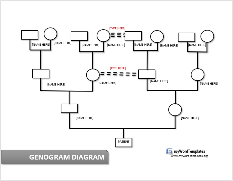 My Genogram Template 01
