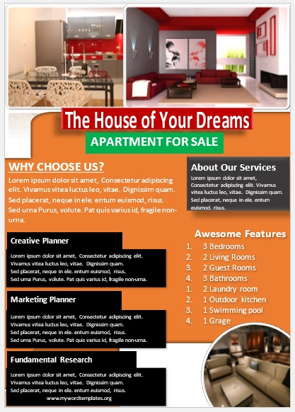 Apartment Flyer Template 01