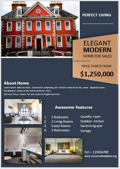 Apartment Flyer Template 02