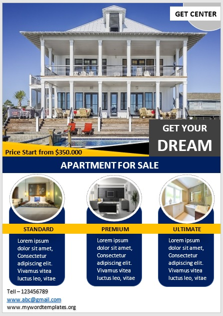 Apartment Flyer Template 03