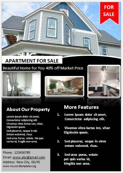 Apartment Flyer Template 07