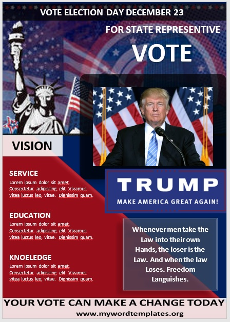 Election Poster Template 11