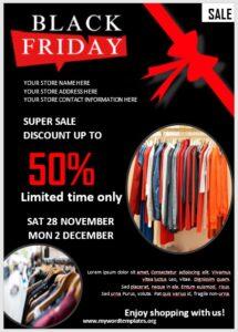 Black Friday Sale Flyer 01