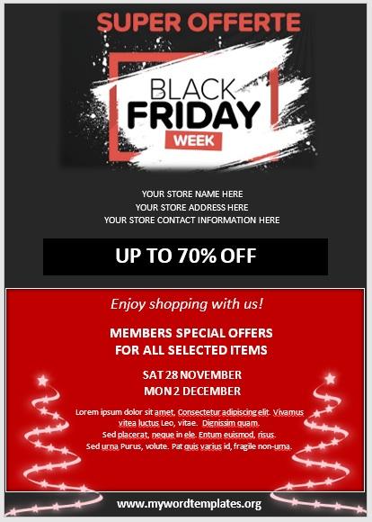 Black Friday Sale Flyer 02