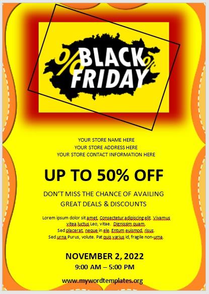 Black Friday Sale Flyer 04