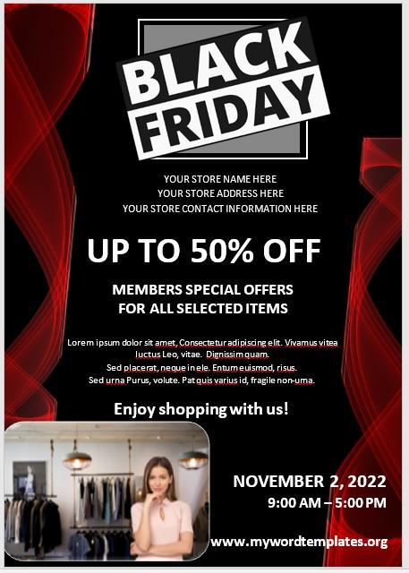Black Friday Sale Flyer 05