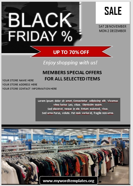 Black Friday Sale Flyer 06