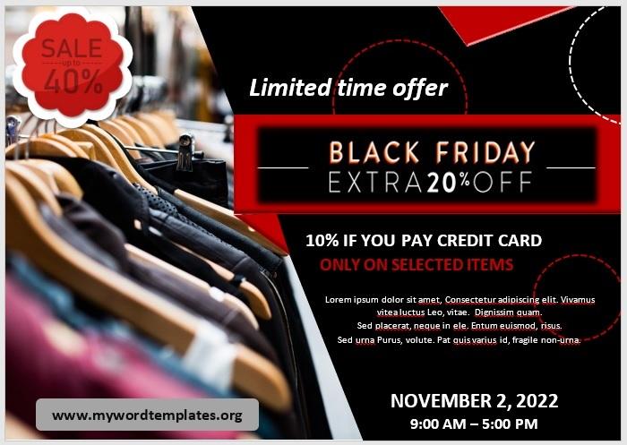 Black Friday Sale Flyer 07