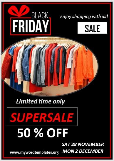 Black Friday Sale Flyer 09