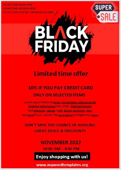 Black Friday Sale Flyer 10