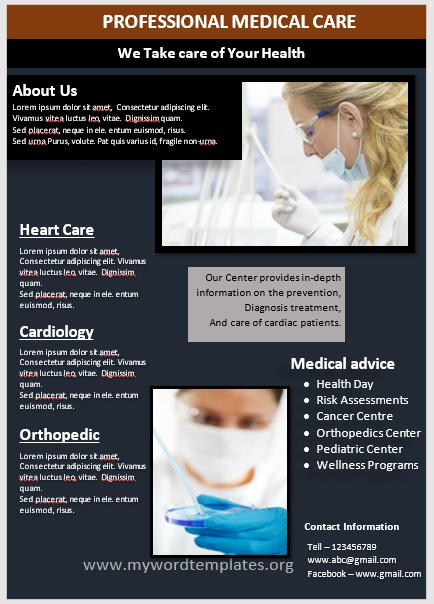 Medical Poster Template 06