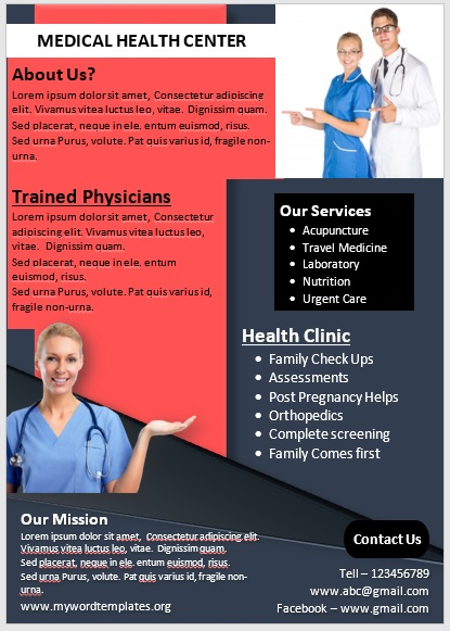 Medical Poster Template 08