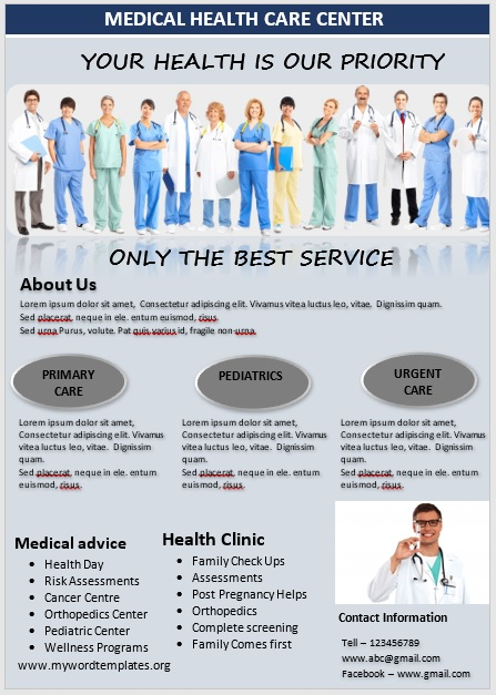 Medical Poster Template 09